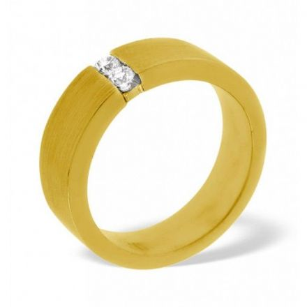 18K Gold 0.12ct H/si Diamond Wedding Band, WB10-12HSY
